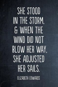 Inspirational quotes, Adjust your sails #quotes #inspiration