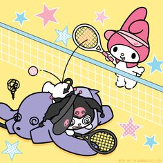 #MyMelody's unbeatable forehand!
