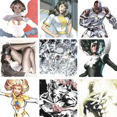 DC Heroes White