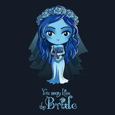Do you take this to be your new Corpse Bride tee? Get the navy You May Kiss the Bride t-shirt only at TeeTurtle! Exclusive graphic designs on super soft tees. Cute Disney, Disney Art, Coraline, Tim Burton Art, Corpse Bride, Art Sketchbook, Cute Cartoon, Cute Drawings, Cute Art