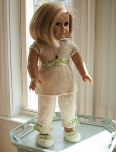 "18"" Doll Summer Fun Ensemble (Free Pattern)"