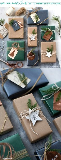 Patterns Templates for Unique Gift Tags That You Can Make Today Lia Griffith Christmas gift ideas unusual Xmas ideas Out of all issues that we have previously discover. Holiday Gift Tags, Christmas Gift Wrapping, Diy Christmas Gifts, Christmas Decorations, Diy Gift Tags, Birthday Wrapping Ideas, Christmas Gift Ideas, Creative Gift Wrapping, Wrapping Gifts