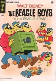 Vintage The Beagle Boys and the Beagle Brats comic book