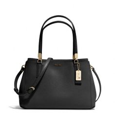 The Madison Small Christie Carryall In Saffiano Leather from Coach