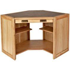 Linea Columbia Corner Desk ($1,315) ❤ liked on Polyvore
