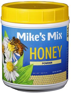 Mike's Mix Honey Powder, 2lb. Natural, Dehydrated >>> You can get additional details at the image link.