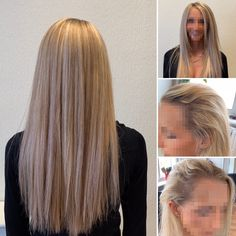 The customised mesh of the Enhancer System is attached by threading strands of your own hair through the mesh, which means it is secure and comfortable. Clients often say they forget it isn't their own hair because it is so comfortable and natural...