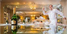 Philippe Labbé :des langoustines vraiment royales : elles sont surmontées de caviar osciètre
