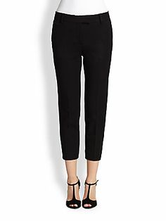 Fendi Cropped Slim Pants