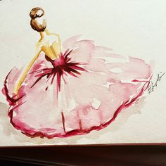 ELAINE BISS: My Russian Period- Watercolor Fashion Illustrations
