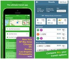 Citymapper will help you navigate some of the biggest cities in the United States and Europe. The app pulls in data from local public transit and puts maps and directions at your fingertips. Travel Essentials, Travel Tips, Oakland San Francisco, Android Web, Science And Technology, Trip Planning, How To Plan, How To Make, Adventure Travel