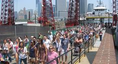 Governors Island is open every Saturday, Sunday and Holiday Monday from May 25 - Sept 9. Great for the family!
