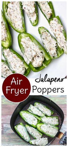 These Air Fryer jalapeno poppers are keto and gluten free! Use three simple ingredients to have them on the table in minutes These Air Fryer jalapeno poppers are keto and gluten free! Use three simple ingredients to have them on the table in minutes Air Fryer Recipes Potatoes, Air Fryer Oven Recipes, Air Frier Recipes, Air Fryer Dinner Recipes, Air Fryer Recipes Vegetables, Air Fryer Recipes Gluten Free, Air Fryer Recipes Vegetarian, Vegetarian Cooking, Jalapeno Poppers
