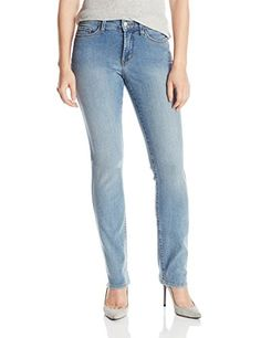 NYDJ Women's Petite Samantha Slim Jeans In Core Indigo Denim - Earlington Wash >>> Discover this special product, click the image : Women clothing Slim Jeans, Women's Jeans, Indigo, Fashion Outfits, Women's Fashion, Core, Clothes For Women, Denim, Lady