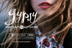 Gypsy Portrait Photoshop Actions by Presetrain Co. on @creativemarket