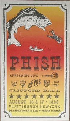 Phish - Clifford Ball Poster - 1996