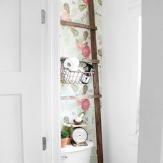 Adorable Bathroom Organizing Idea from @theduchessofyork featuring Boys' Bathroom Cleaner. It's handsome enough to hang out anywhere. Even in the Ladies Room.