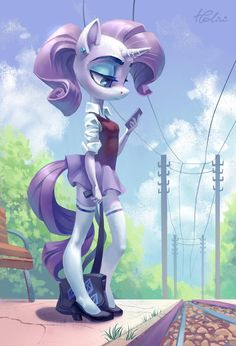 Rarity [as a partial human] (Drawing by Holivi Mlp Rarity, Character Art, Character Design, My Little Pony Rarity, My Little Pony Characters, Little Poni, Mlp Fan Art, Pony Drawing, Human Drawing