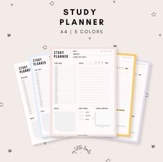 Excellent Photo exam planner printable Suggestions Have you been ready to get going with printable planner inserts? Exam Planner, College Planner, School Planner, Study Planner, Budget Planner, Study Calendar, Weekly Planner, College Agenda, Exam Calendar