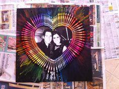 Handmade gifts #boyfriend #crayola