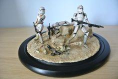 images Custom Action Figures, Clone Trooper, Clone Wars, Dioramas