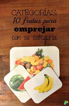 Material de Categorías de Frutas listo para imprimir!