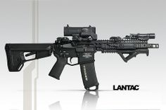 Introducing the new LANTAC / caliber Muzzle Brake and Drakon Brake for rifles. With its unique Patent Pending design the LANTAC Dragon deliver. Military Weapons, Weapons Guns, Guns And Ammo, M4 Airsoft, Ar Pistol, Tactical Rifles, Tactical Equipment, Cool Guns, Assault Rifle