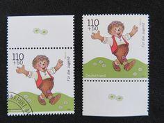 """Bund 1999 """"Für die Jugend - Mecki"""" postfrisch+gestempelt, Mi-Nr. 2057 in Briefmarken, Deutschland, Deutschland ab 1945   eBay"""