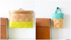 """""""JohannaKoo"""":n tapa dipata pärekorit on hauska tapa tuoda niihin väriä! #styleroom #inspiroivakoti #diy"""
