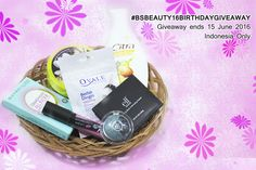 #Bsbeauty16birthdaygiveaway #makeup #beautyblogger #beauty #blogger #indonesianbeautyblogger #bloggerindonesia
