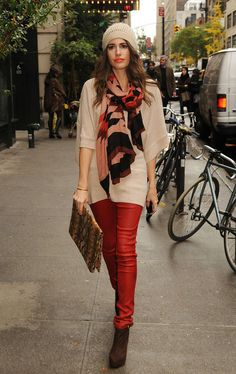 Louise Roe - nice color & materials combination