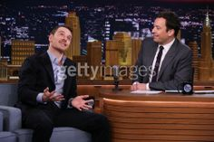 Michael Fassbender on with Jimmy Fallon