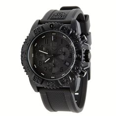 Luminox Rubber Strap Black Chronograph Men's Watch - 3081.BO >>> Find out more about the great product at the image link.