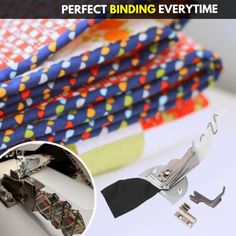 Sewing Tools, Sewing Tutorials, Sewing Hacks, Sewing Crafts, Or Mat, Quilt Binding, Leftover Fabric, Blanket Stitch, Straight Stitch