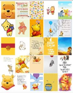 Printable Winnie the Pooh Boxes for by 2BeesPlannerSupplies