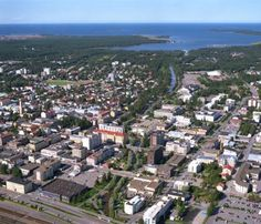 Kokkola and the Baltic Sea, Finland.
