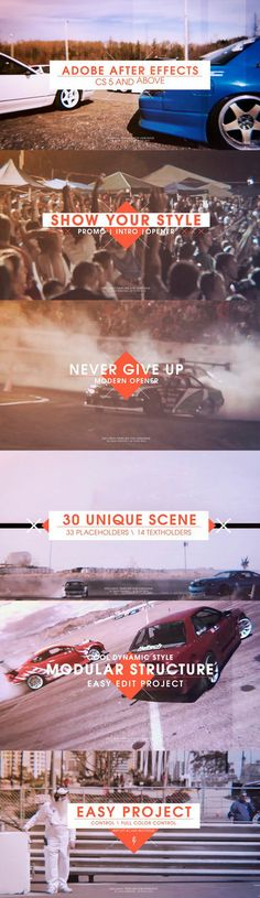 Videohive Sport Promo - Cars Reel 19223363 - Free After Effects Template - Videohive projects