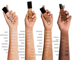 Shop NARS's Natural Radiant Longwear Foundation at Sephora. This foundation offers up to 16 hours of lightweight, natural, fade-resistant wear. Foundation Tips, No Foundation Makeup, Foundation Application, Foundation Shade, Makeup Techniques, Maquillaje Diy, Bright Summer Acrylic Nails, Makeup Tips, Women's Handbags