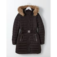 Boden Alberta Puffer Coat (123.800 CLP) ❤ liked on Polyvore featuring outerwear, coats, puffer coat, down coat, quilted down coat, feather coat and boden coats