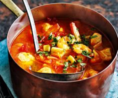 Slow Cooker Spanish Fish Soup Recipe