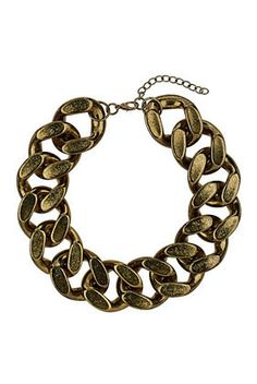 TOPSHOP Chunky Chain Necklace - £20