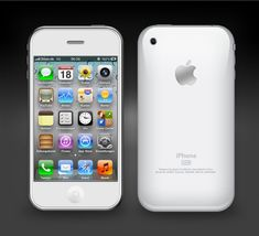 White iPhone 3gs