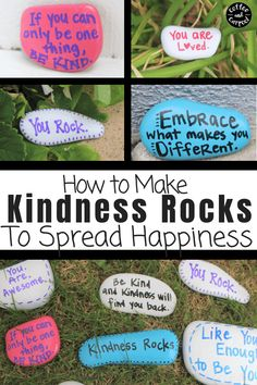 how to make gratitude rocks