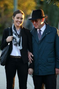 Megan Boone & James Spader
