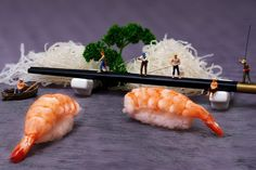 Look At These Tiny People In A Universe Made Of Food