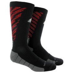 adidas Team Speed Traxion Shockwave Crew Socks 1 Pair Lg