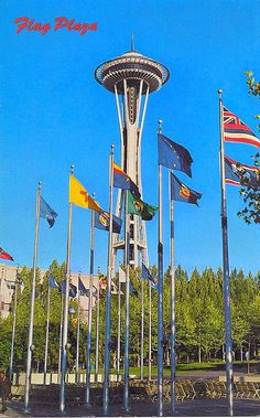 Flag Pavilion at the Seattle Center - Seattle, WA
