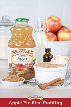 Whip up this warm, nostalgic treat with R.W. Knudsen Family®️ Organic Apple Juice, made with whole, organic apples.