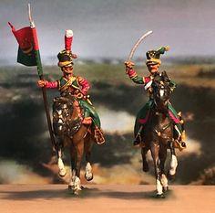 Alfiere e ufficiale dei tartari lituani della guardia imperiale francese