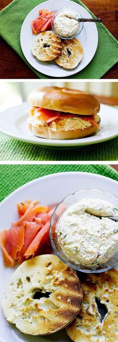Breakfast is better with homemade vegetable cream cheese | girlgonegourmet.com
